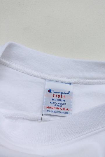 Champion T 1011 34 Football Tee Shirt WISCONSIN 16 WHITE (2)