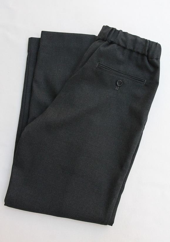 Le ciel de Harriss TR Easy Pants Center Seam CHARCOAL