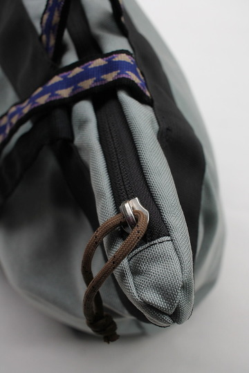 Back Products Zip Tote Small Nylon GREY (3)