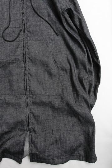 eterno Hood Coat AST 00 BLACK (3)