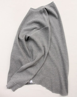 moc T Henry Neck Pullover Loose Fit Waffle (5)