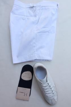 H Footwear Cover Socks Anti Slip NAVY