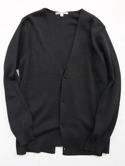 NOUN Single Cardigan BLACK