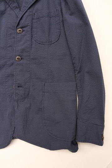 Candidum Seersucker Shirt Jacket NAVY (3)