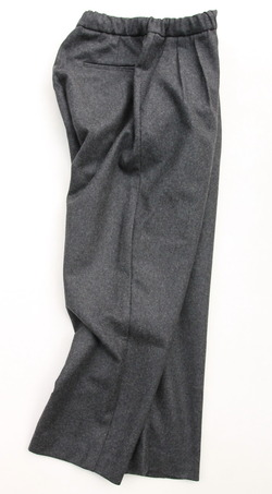 CESTERS 2 P Easy Wool Trousers by Burel CHARCOAL (6)