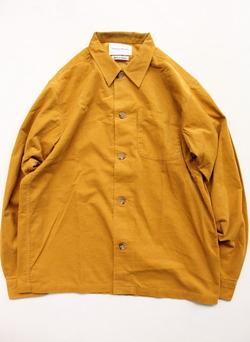 Vincent et Mireille Corduroy Shirt BLSN MUSTARD