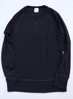 Baxter Ratcliff Wool Crew Sweat Shirt NAVY