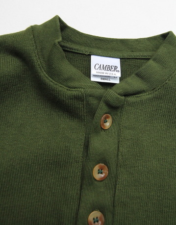 CAMBER Tree Button Henry OLIVE (2)