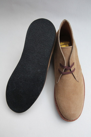 Laborer Shoes Postman Chukka BEIGE Suede (6)