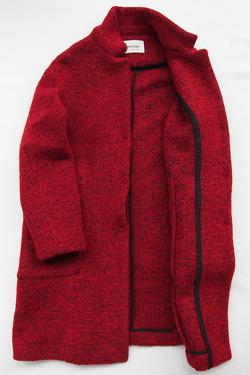 Ottodame Giacca DG 4367 Jacket ROSSO NERO (4)