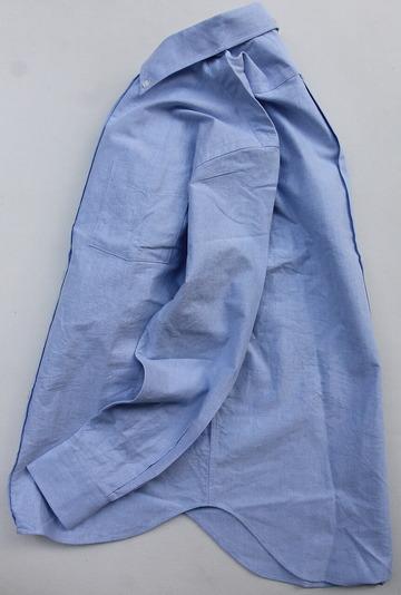 SERO Oxford BD Shirt BLUE (5)