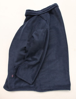 NEWLYN Smock Fleece NAVY (4)