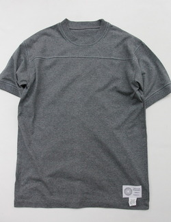 The Bolder Mountaineer SS Football Tee CHARCOAL (2)