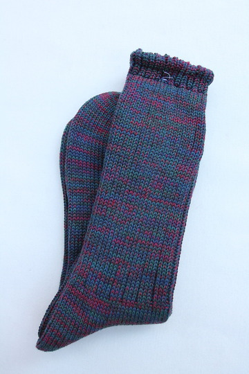 Anonymous Isme 5 Color Mix Socks INDIGO (2)