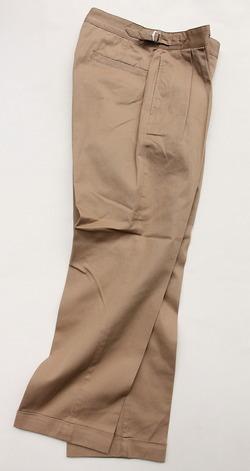 KIFFE Belt Less Pants KHAKI (6)