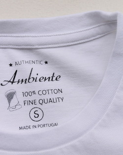 Ambiente Pique 34 Sleeve Tee WHITE (4)