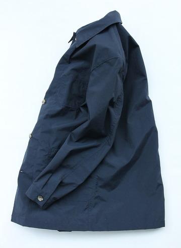coochucamp Happy Shirt Coat NAVY (5)