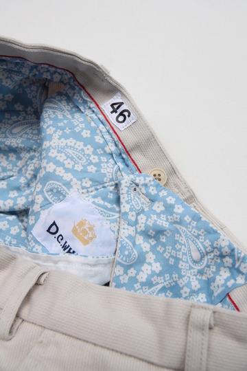 DC WHITE Pique Basic Pants IVORY (7)