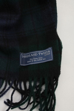 Highland Tweeds Lambswool W With BLACK WATCH (3)