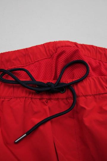 MIDA Nylon Shorts with Linner RED X NAVY (5)