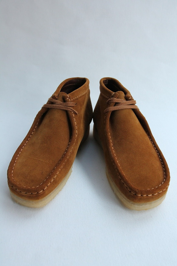 Clarks Wallabee Boot BRONZE (2)