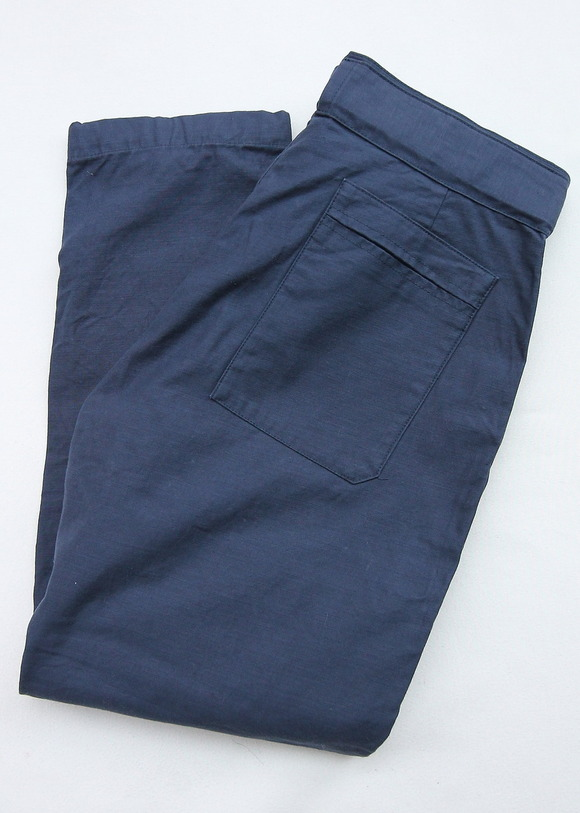 ARAN Belt Pants NAVY