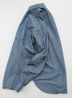 BATTERSEA Chambray Granda Shirt (4)