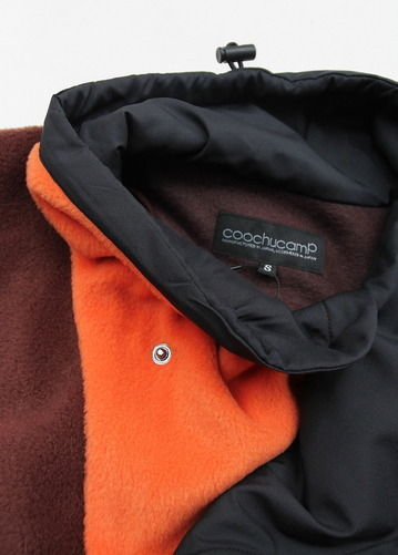 coochucamp Happy Pullover Fleece BROWN ORANGE (4)