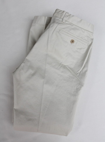 DC WHITE Chino Pants OFF WHITE