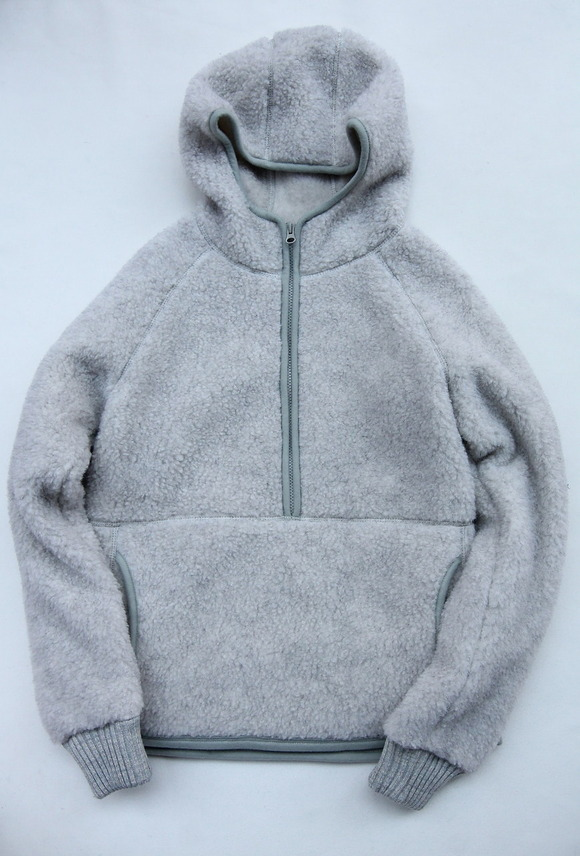 COLDBREAKER Hood Jacket LIGHT GREY