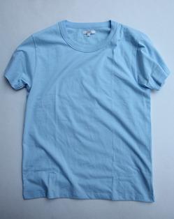 ARMEN Cotton Jersey Crew Neck S SL T Shirt CIEL
