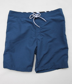 BORDIES BS121 Nylon Shorts Long NAVY