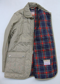 Mighty Mac Quilt Jacket BEIGE (4)