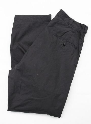 RICEMAN Tapered Pants BLACK