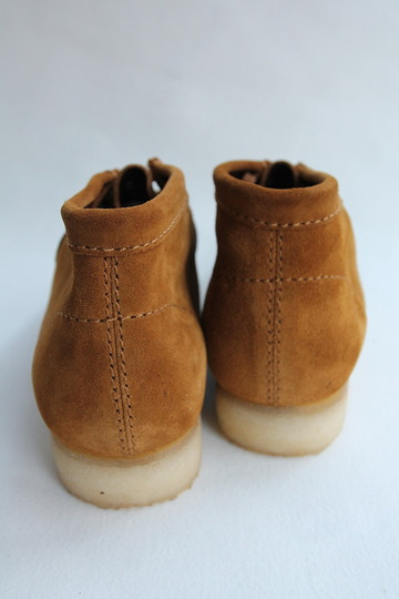 Clarks Wallabee Boot BRONZE (8)