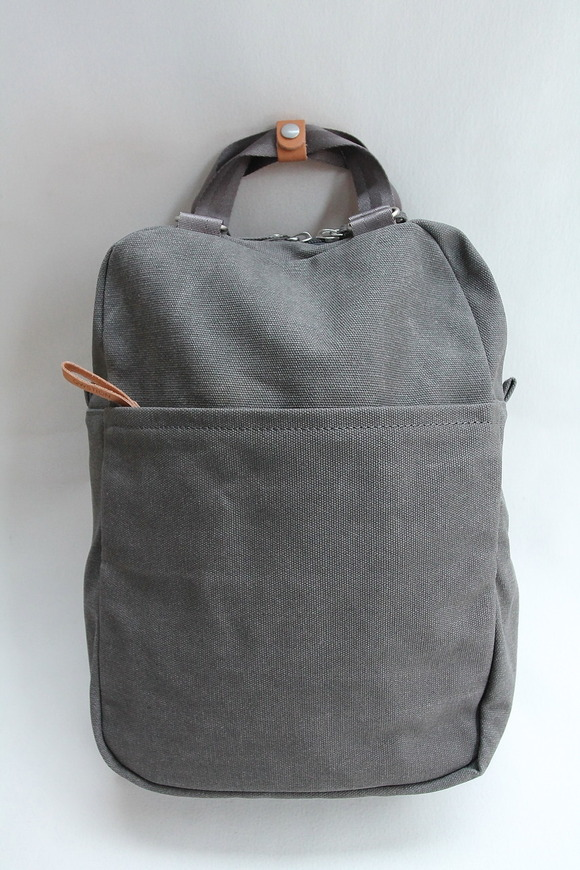 QWESTION Small Pack Washed GREY