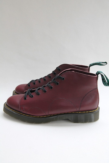 Solovair Oxblood 7Eye Monkey Boot CHERRY (4)