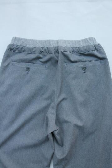 Le Ciel de Harriss T Rayon Tuck Easy Pants GREY (4)