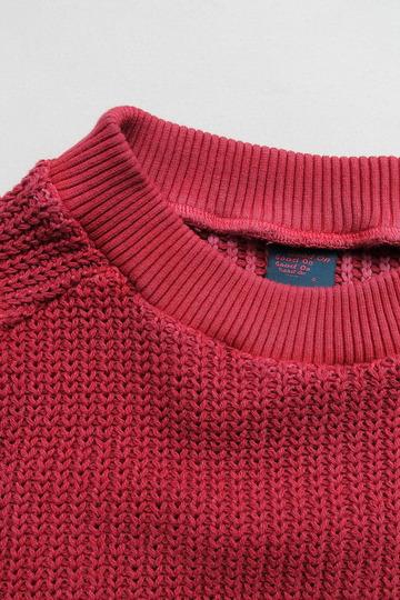 Goodon Crew Cotton Sweater P RED (2)