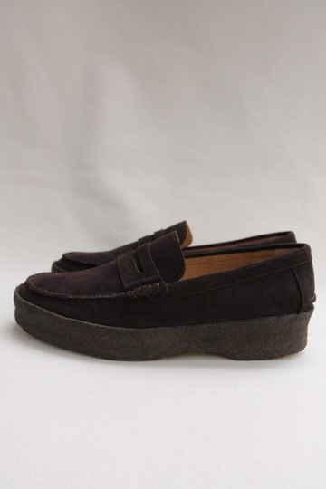 LABORRER SHOES Mudguard Loafer BROWN (4)