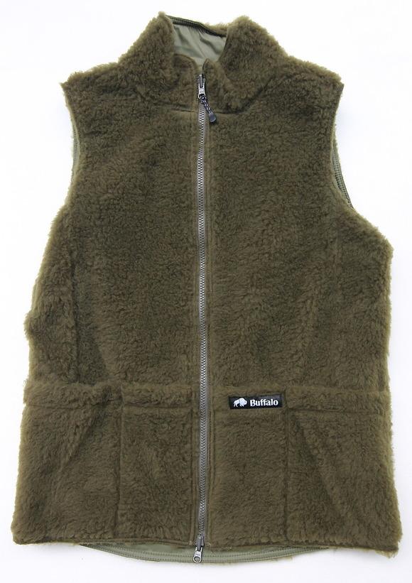 Buffalo Reversible Belay Vest OLIVE OLIVE (6)