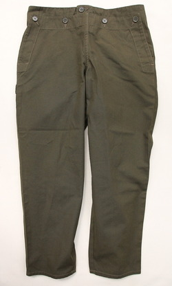 Chums Camp Pants ARMY GREEN (5)