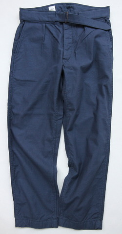 ARAN Belt Pants NAVY (6)