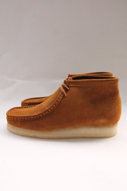 Clarks Wallabee Boot BRONZE (9)