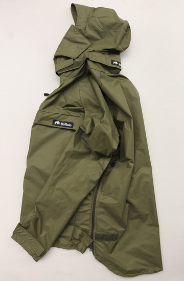 Buffalo Wind Shirt with Unlined Hood OLIVE (8)