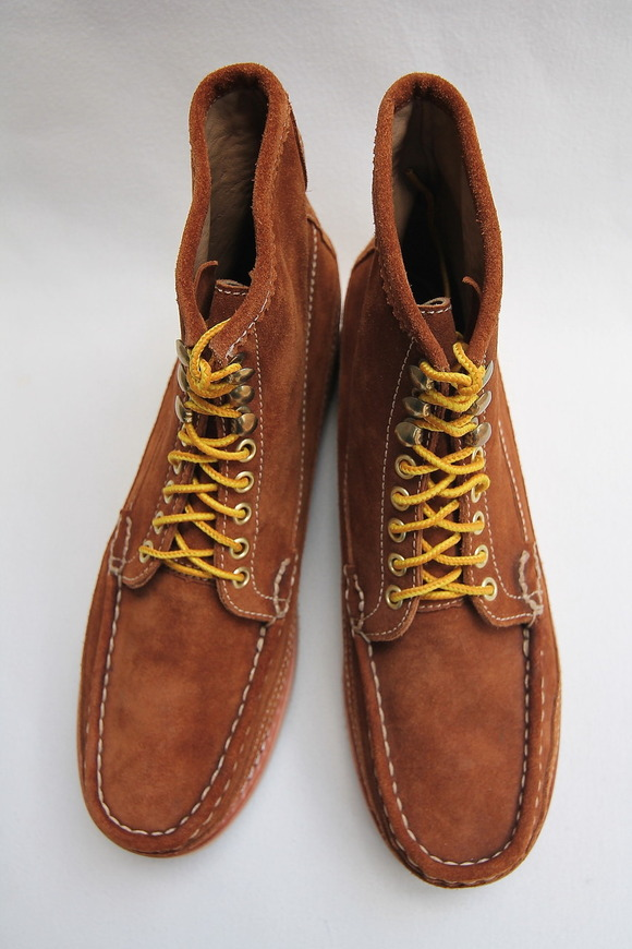 Beautifical English Moc Suede