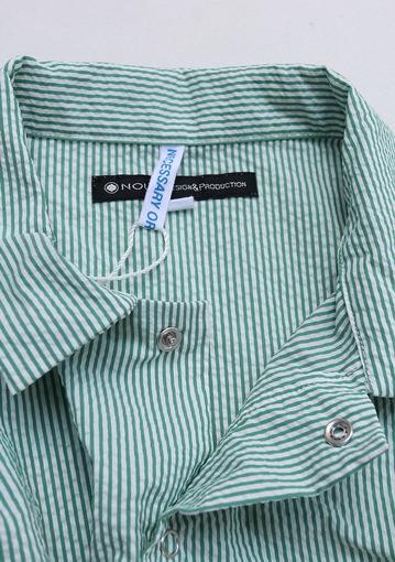 NOUN Work Pullover Stripe GREEN (5)