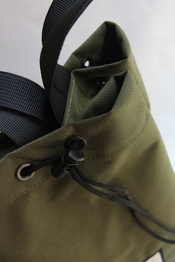 AIGUILLE Rope Bucket Medium OLIVE (2)