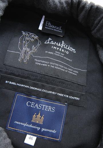 CEASTERS 2Pleats Easy Trousers GREY  by Burel (2)