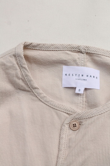 KESTIN HARE Neist Overshirt Cord WINTER WHITE (3)
